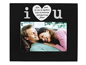 Malden I Love U Positive Images Fashion Frame, 4-Inch by 6-Inch