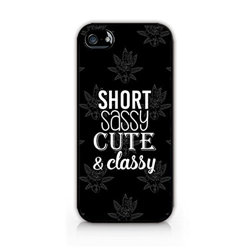 Compatible for iPhone 7 - Cream Cookies - Hard Plastic Case -Short, Sassy, Cute and Classy - Quotes - Fun - Funny - Cute - Sassy Quote - Weed (Funny Quote Iphone 4 Case)