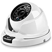 BESDER 720P Dome IP Camera, Waterproof 2.8mm Lens Wide Angle Outdoor Cameras Auto Day/Night Vision Switching Support ONVIF/Motion Detect/Email FTP Alert surveillance Cameras