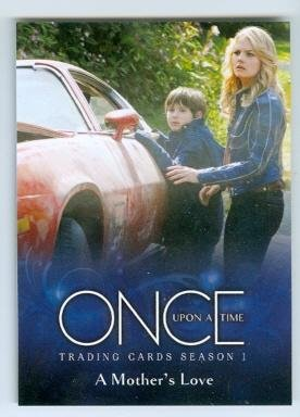 Emma and Henry trading card Once Upon A Time 2014 Cryptozic ABC #33 Jennifer Morrison Jared Gilmore