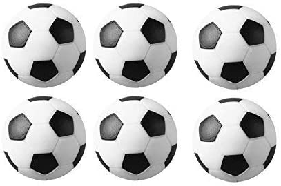 Sunfung - Pelotas de fútbol (tamaño pequeño, 36 mm), Multicolor, 48