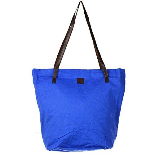 Antonio Damen Shopper Canvas blue