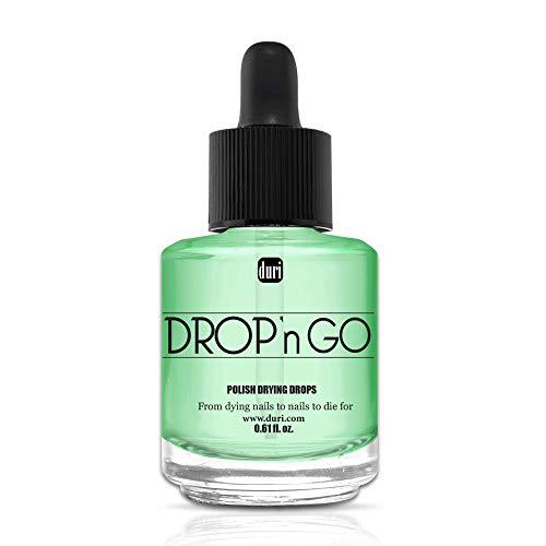 Duri Cosmetics Drop'n Go Polish Drying Drops, 0.61 fl. oz.