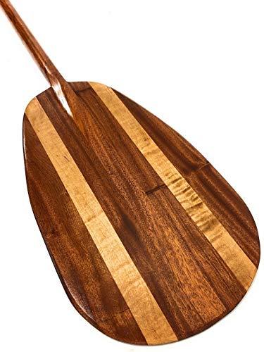 Tikimaster Extra Large Koa Canoe Outrigger Paddle 78
