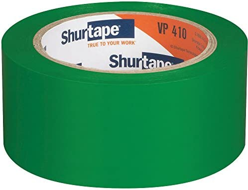 "2 Roll Shurtape VP 410 Floor lane /& aisle marking  Tape 2/"" x 33 Meters green"
