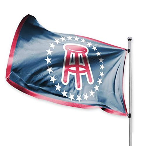 Barstool Sports Official Barstool Flag, 3x5 Foot, Durable & Fade Resistant, Stool Logo, Perfect for Tailgates Dorms College Football Spring Break Fraternities Parties