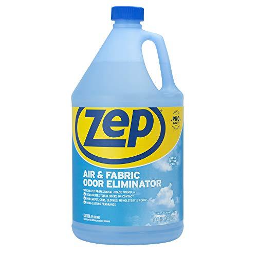 (Zep Air & Fabric Odor Eliminator 128 oz, Blue)