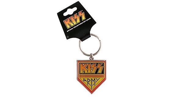 Amazon.com: Kiss - Army - Metal Key Chain / Keyring: Office ...