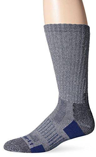 Carhartt Men's 2 Pack All-Terrain Boot Socks, Navy Shoe Size: 6-12