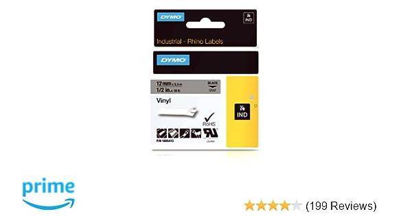 f63406566058 Amazon.com : DYMO Industrial Labels for DYMO Industrial Rhino Label ...