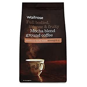 Mocha Blend café molido 227g Waitrose