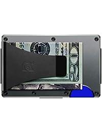 Authentic Minimalist Metal RFID Blocking Wallet - Money Clip