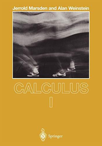 Calculus I (Undergraduate Texts in Mathematics)