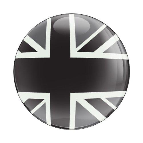 UPC 819878010482, GoBadges CD0223 UK Black Jack Flag Magnetic Grill Badge