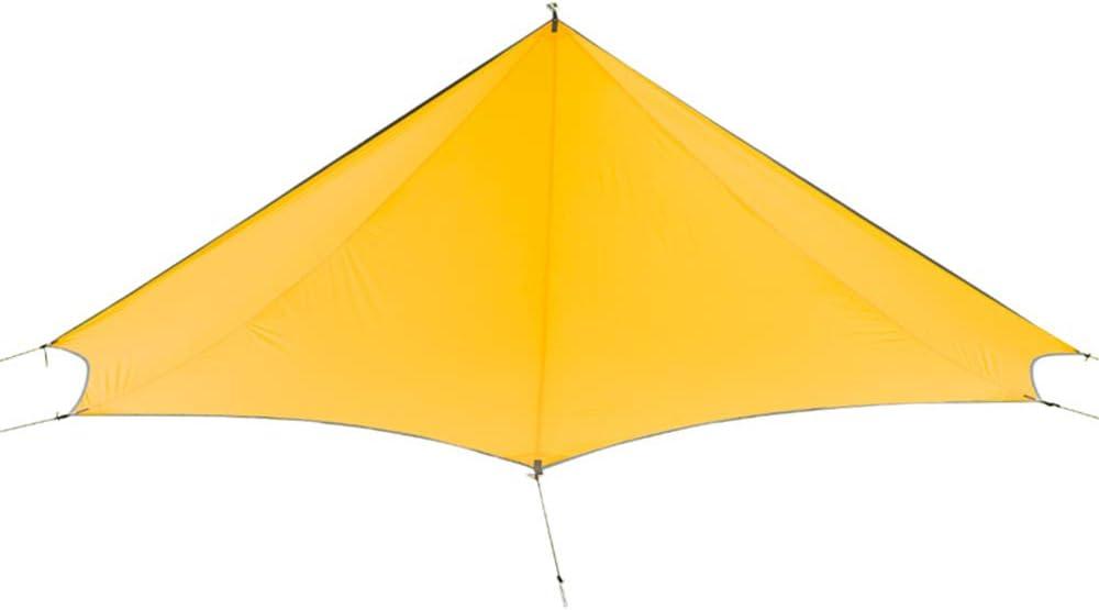 Gstrand Camping Carpa Barrera, Luz Pentagonal Canopy Exterior Protección Solar Protección UV Lluvia Camping Pergola: Amazon.es: Deportes y aire libre