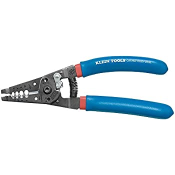 Klein Tools 11053 Wire Stripper and Cutter for 6-12 AWG Stranded Wire