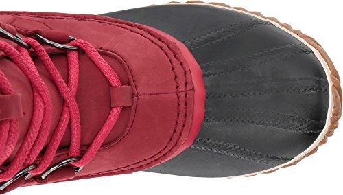 SOREL Womens Caribou Slim Snow Boot, Red Element, 9 B(M) US by SOREL (Image #1)