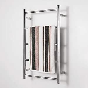 ZMXN Muebles, baño, tendedero, toallero, toallero Recto, radiador, Escalera eléctrica, baño Moderno, calefacción, Ropa, Toalla, tendedero, Secado, tendedero, secador: Amazon.es: Hogar