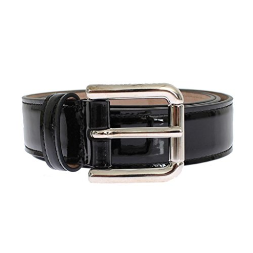 Gabbana Womens Belts (Dolce & Gabbana Black patent leather belt)