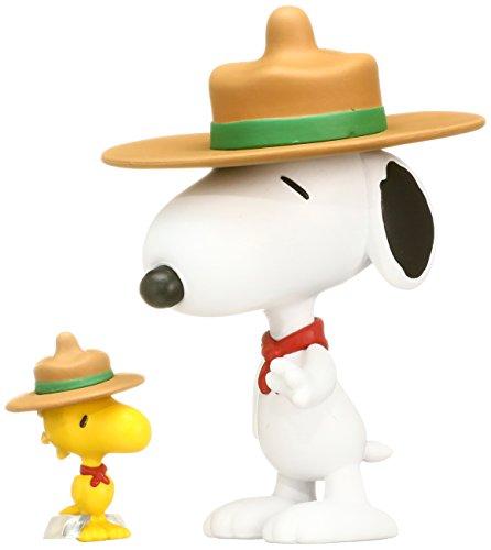 Medicom Peanuts: Beagle Scout Snoopy & Woodstock Ultra Detail Figure ()