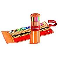 Stabilo Point 88 Plumas Fineliner, 0,4 mm - Juego de 30 colores en mayúsculas