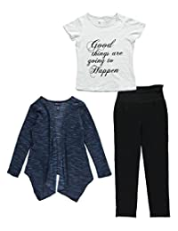 """Limited Too Big Girls' """"Good Things"""" 3-Piece Outfit"""