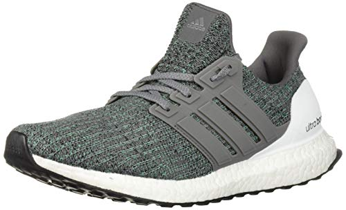 - adidas Men's Ultraboost, Grey/hi-res Green, 4.5 M US