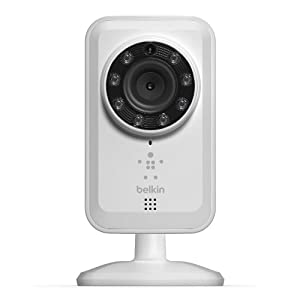 Belkin NetCam Wireless IP Camera for Tablet and Smartphone with Night Vision and Digital Audio- Certified Refurbished from Belkin
