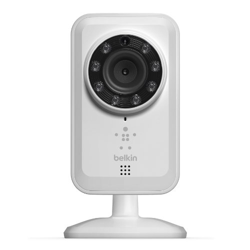Belkin NetCam Wireless IP Camera for Tablet and Smartphone with Night Vision and Digital Audio- (Renewed)