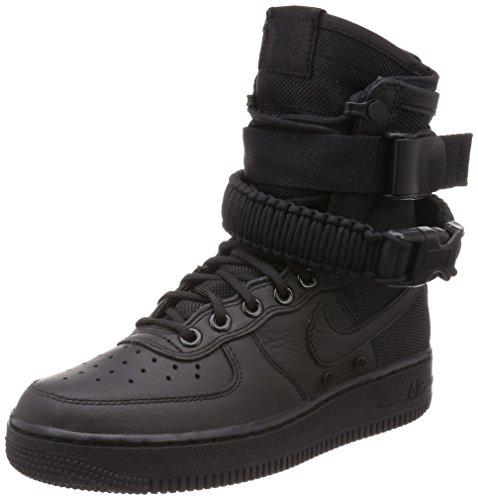 Nike Femme Sf Af1 Chaussure Décontractée Noir / Noir-noir