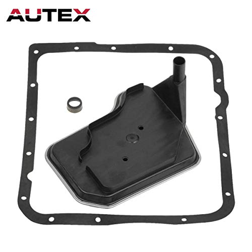 AUTEX 4L60E 4L65E 4L70E Transmission Fluid Filter Kit Compatible With Chevy/Pontiac 1998-Up Deep Pan ()
