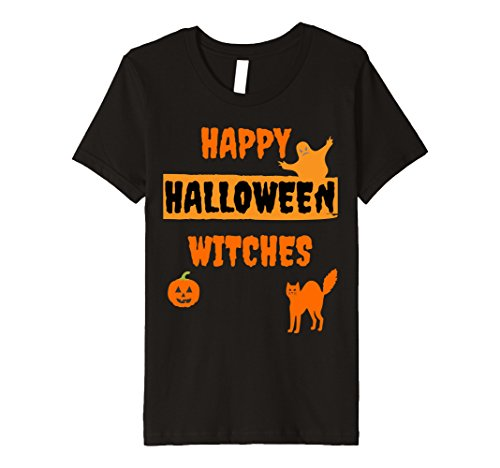 Clever Halloween Costumes For Two People (Kids HAPPY HALLOWEEN 2017 Funny T-shirt 10 Black)