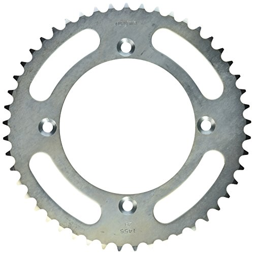 (Sunstar 2-145649 49-Teeth 420 Chain Size Rear Steel Sprocket)