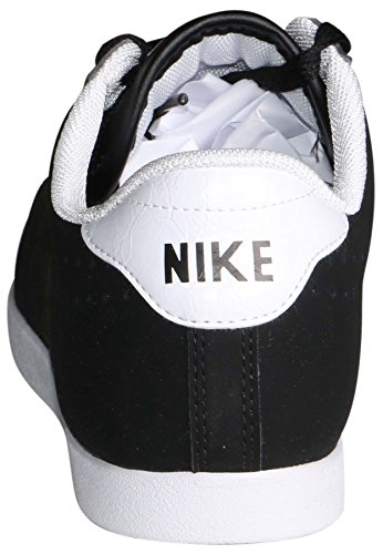 White Leather Racquette Nike Women's Shoe Black Black Racquetball Ankle High ITBIwza
