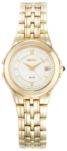 Seiko Women's SXDB20 Le Grand Sport Gold-Tone Watch