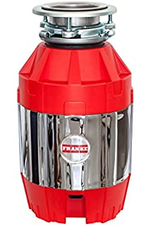 Franke FWDJ75 3/4 HP Disposer 2, 14.6 x 9 x 12.5 Red/