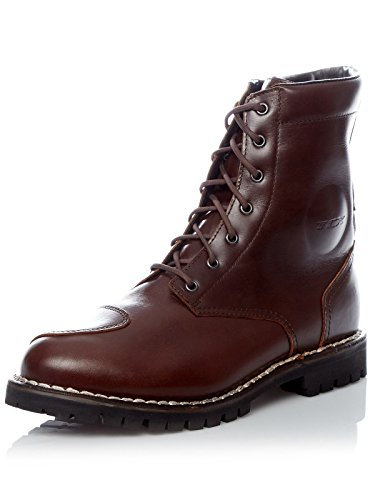 TCX Hero Men's Street Motorcycle Boots - Vintage Brown/Eu 43 / Us 9