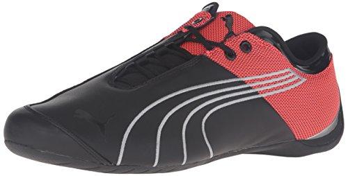 PUMA Men's Future Cat m1 Core Fashion Sneaker, Black/Red Blast, 4 M US