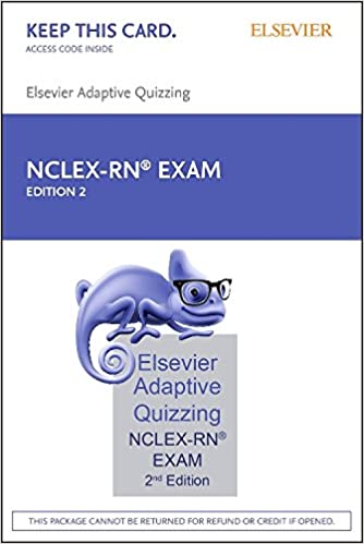 Elsevier adaptive quizzing for the nclex rn exam 36 month retail elsevier adaptive quizzing for the nclex rn exam 36 month retail access card 2e 2nd edition fandeluxe Image collections