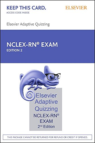 Elsevier Adaptive Quizzing for the NCLEX-RN Exam (36-Month) (Retail Access Card), 2e