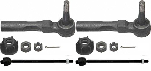 Prime Choice Auto Parts TRPKG0016 Set of Inner and Outer Tie Rod Ends