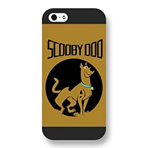 UniqueBox Scooby Doo Custom Phone Case for iPhone 5 5S, DC comics Scooby Doo Customized iPhone 5 5S Case, Only Fit for Apple iPhone 5 5S (Black Frosted Shell)