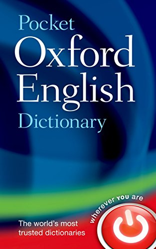 Pocket Oxford English Dictionary - Oxford Mini Dictionary
