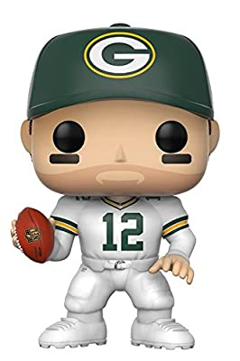 Funko Pop NFL: Aaron Rodgers (Green Bay Color Rush) Collectible Figure