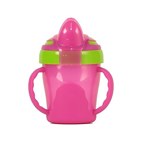 Vital Baby Soft Spout Trainer Cup, Pink - Pack of 6