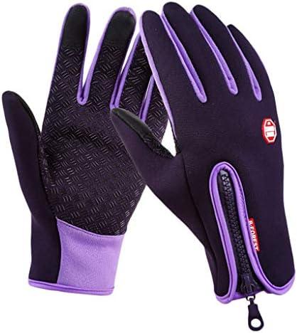 スポーツグローブ ライディンググローブ タッチスクリーン 男女向け 冬の手袋 バイク 登山適用 全4サイズ