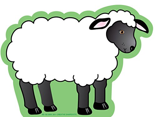 - Creative Shapes Etc. Sheep Notepad