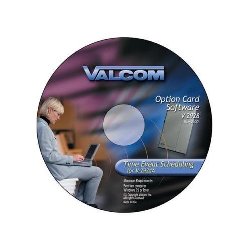 VALCOM VC-V-2928 Valcom Option Card w/Scheduler White -