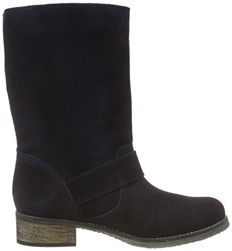 Jonny's Karen - botas de cuero mujer azul - Blau (MARINO)
