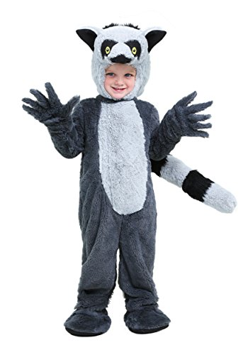 Ring Tailed Lemur Tail Costume (Toddler Lemur Costume 4T)